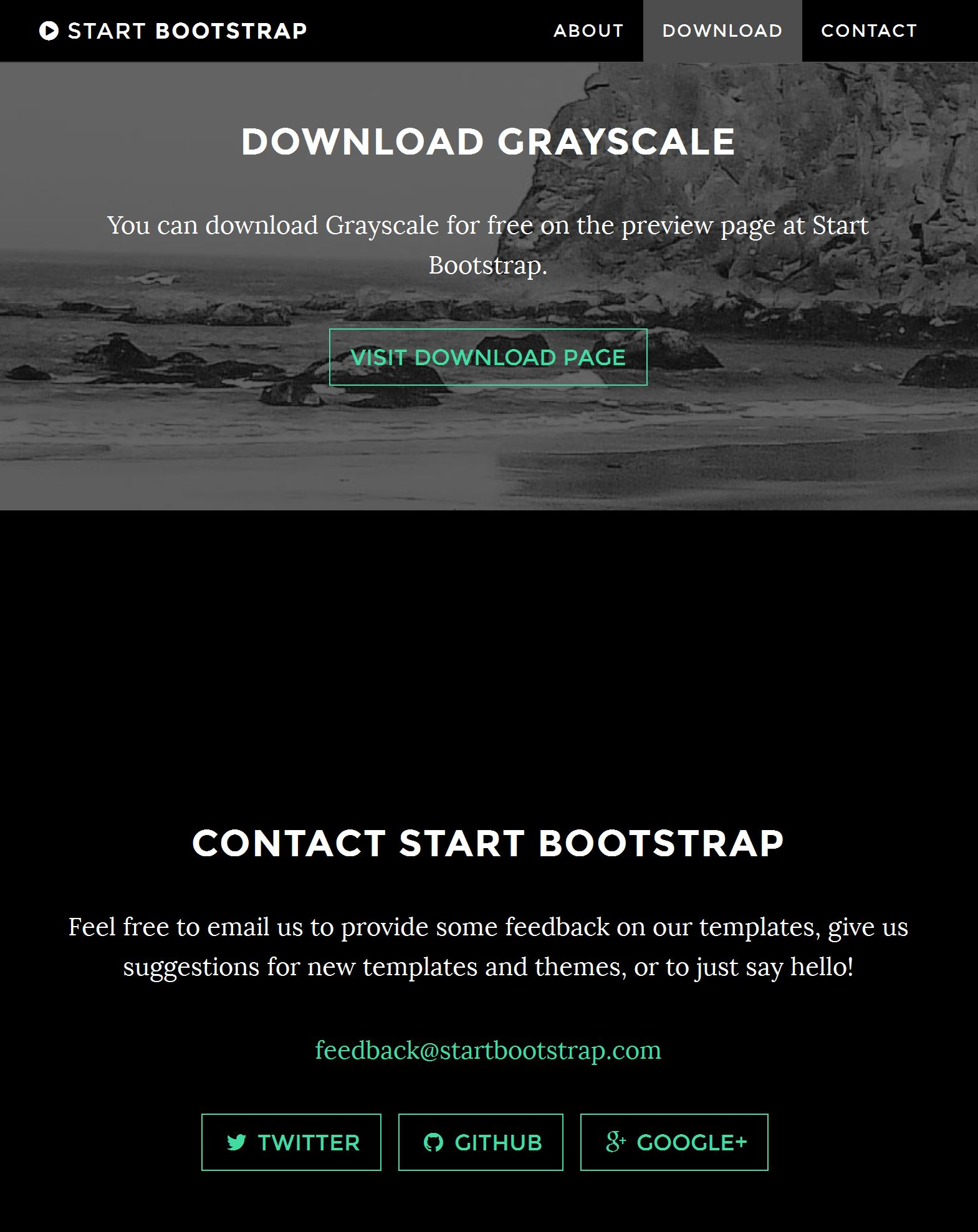 Bootstrap Image Gallery Template