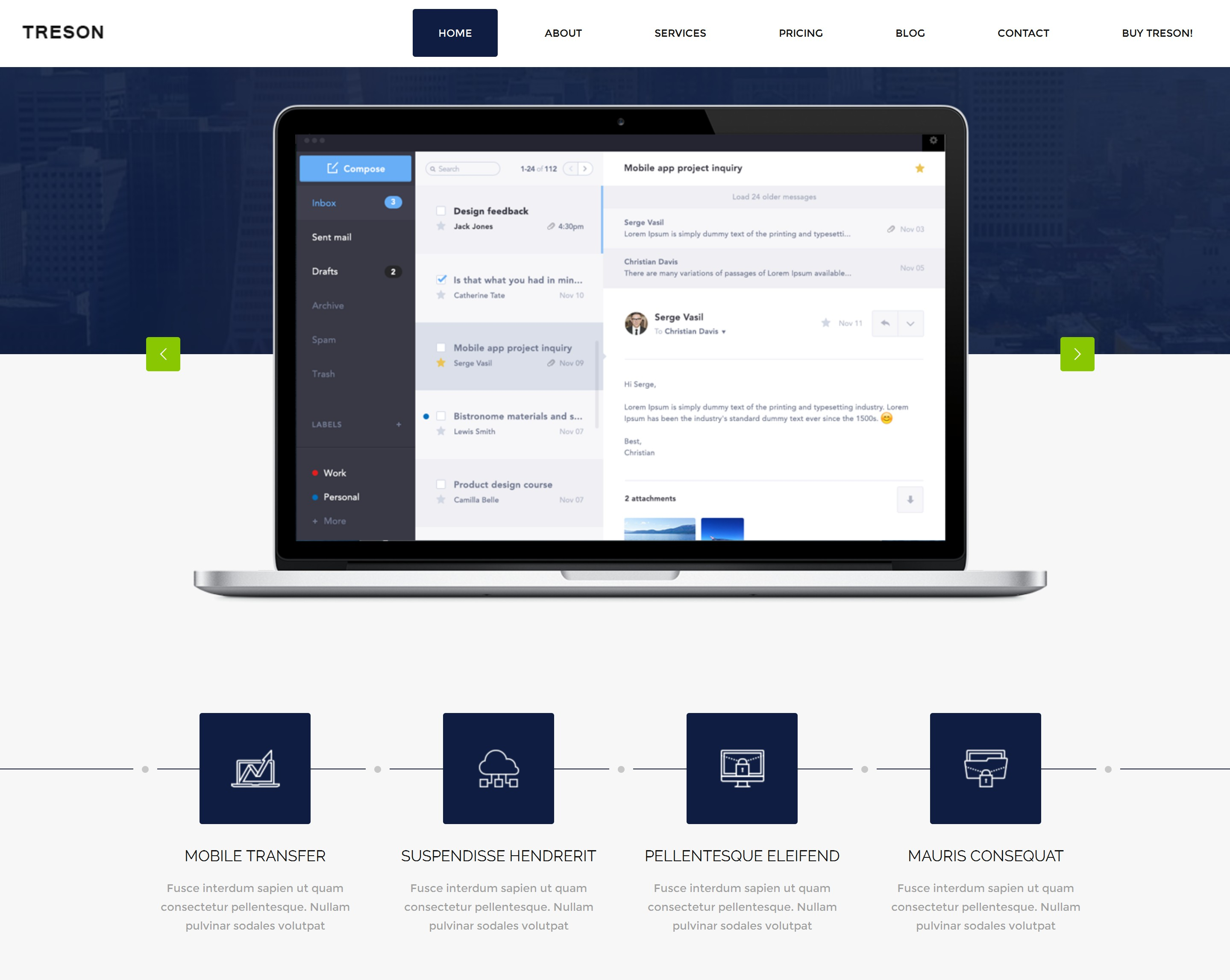HTML5 Bootstrap Store Theme