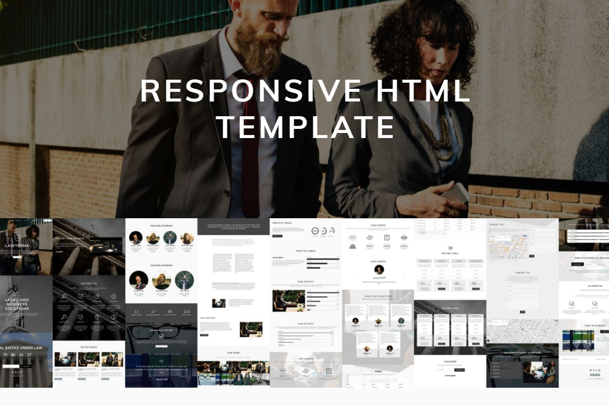 Top 41 Slick Responsive Templates Examples